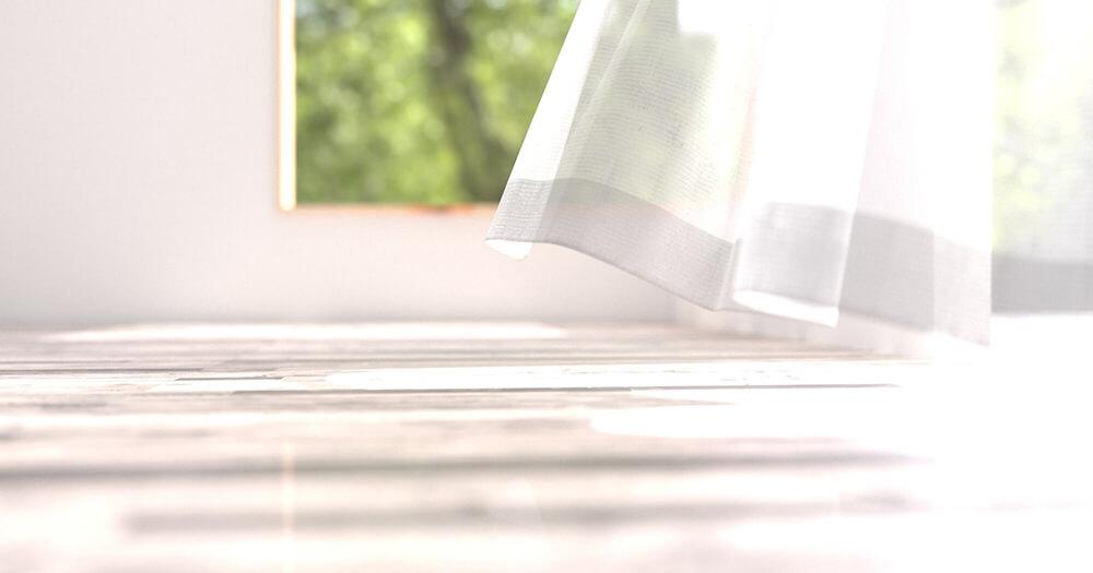 窓の結露でカーテンにカビ!正しいシミの落とし方と結露対策