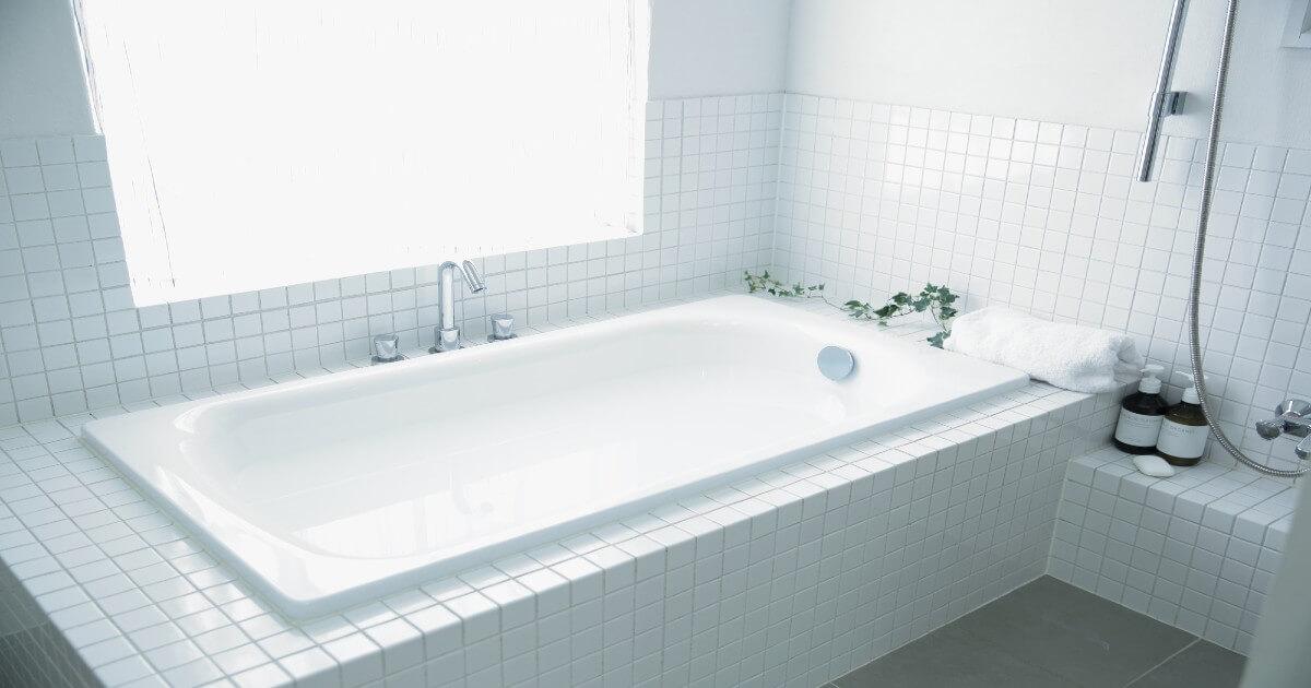 お風呂の水垢を掃除して目指せピカピカバスルーム!