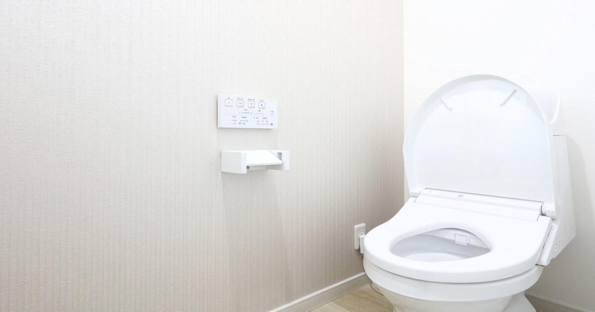 トイレのウォシュレットはこまめに拭き掃除!