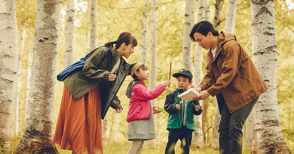 THE NORTH FACE×星野リゾート「子どものための森遊びプログラム」