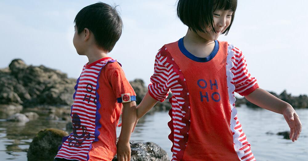 一点ものに出会える子ども服「HOHO」古着をアップサイクル!